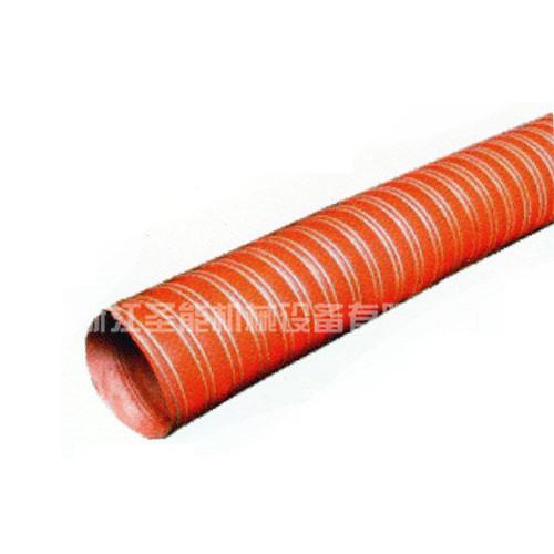 红色矽胶玻布软管